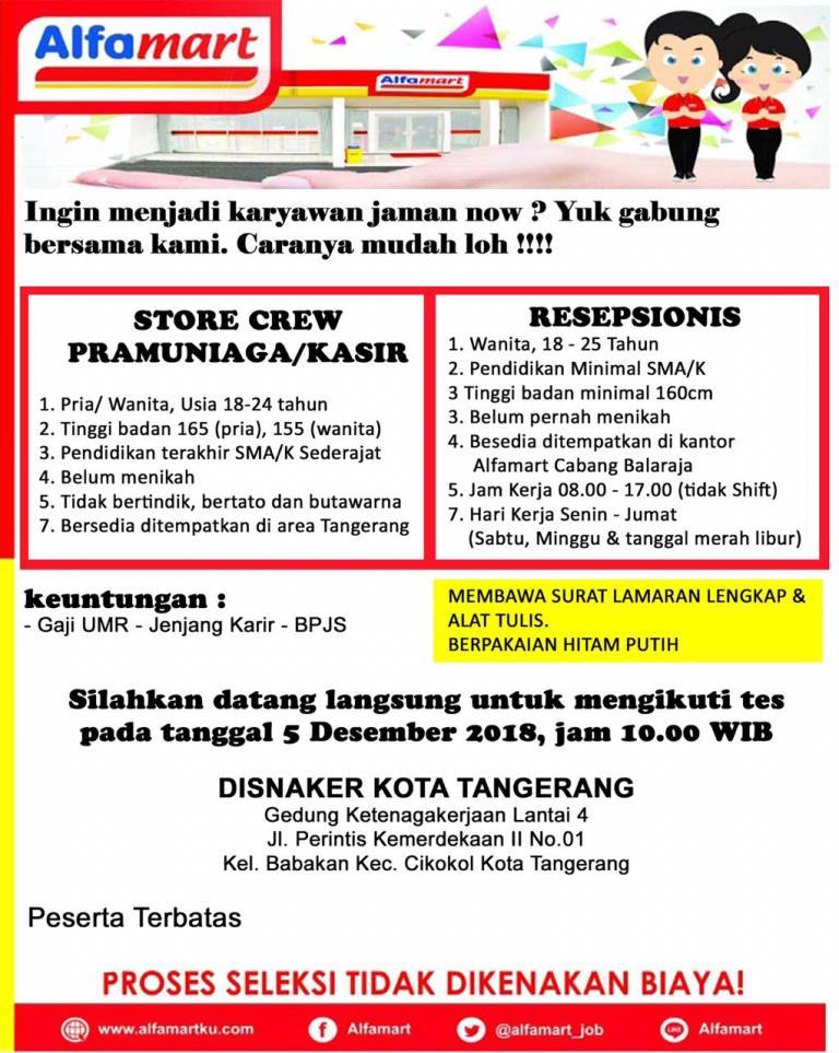 Dinas Ketenagakerjaan Pemerintah Kota Tangerang